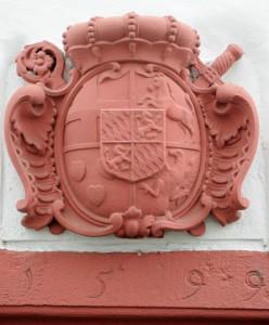 Wappen Ernst von Bayerns am Linzer Zollhaus